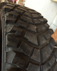 Vendo pneumatici off-road