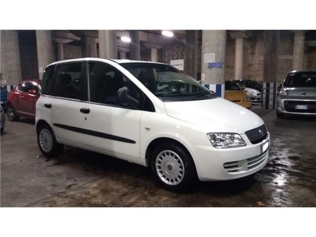 Multipla fiat a metano natural power bianca vendo